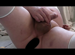 anal,asshole,dildo,ass,gaping,butt,toy,buttplug,gape,fetish,webcam,gay,insertion,extreme,stretching,kinky,stretch,sissy,gay sissy uses cum as...