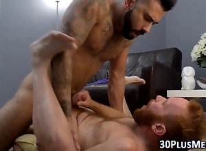 anal,cumshot,fucking,bear,hairy,hunk,muscle,oral,tattoo hairy bear gets...