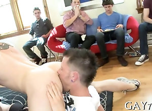 blowjob,hardcore,public,gay,party eating that ass...