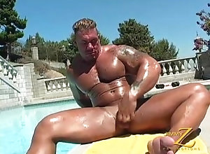 bodybuilder;micro-thong,Solo Male;Gay mydream