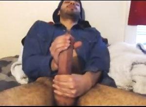 webcam;monster-cock;huge;giant-cock;massive;solo;jack-off;wank,Latino;Solo Male;Gay Monster Latin...