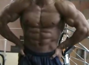 bodybuilder;muscle,Muscle;Solo Male;Gay Chris Radamater