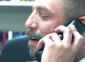 suit;tie;socks;older;younger;hairy;dick;butt;hard;rough;office,Daddy;Big Dick;Gay Older boss fucks...